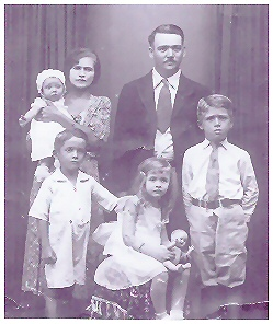 C. Oxholm Kissell & Family - Daddy's Father/Mother